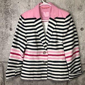 Steilmann Summer Chic Stripes Blazer Linen Blend